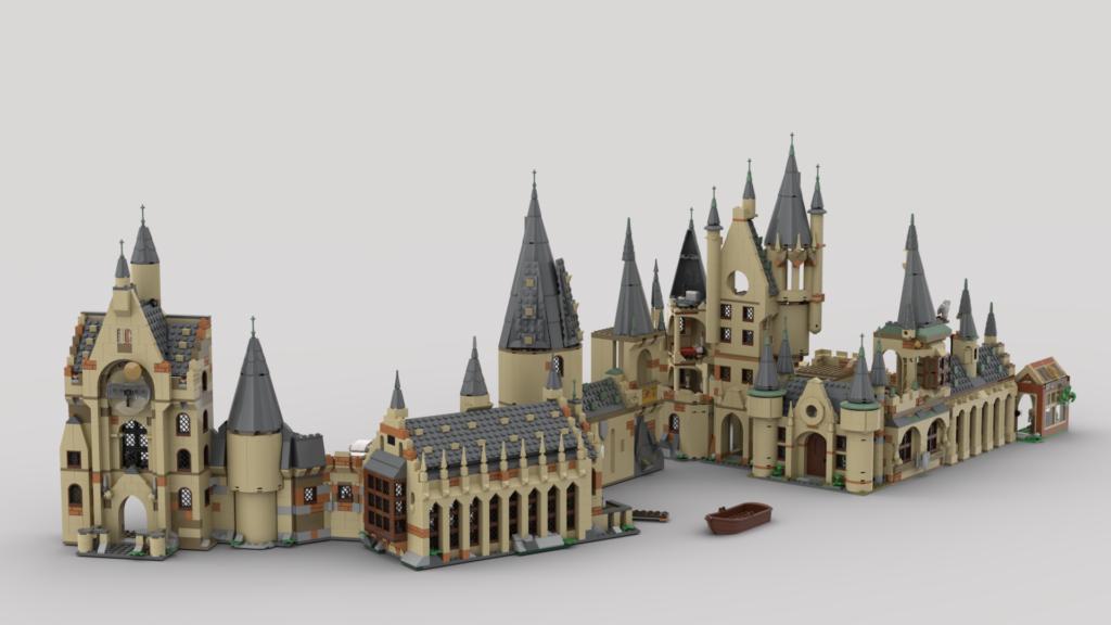 LEGO Harry Potter Combining Hogwarts Sets Eurobricks 2