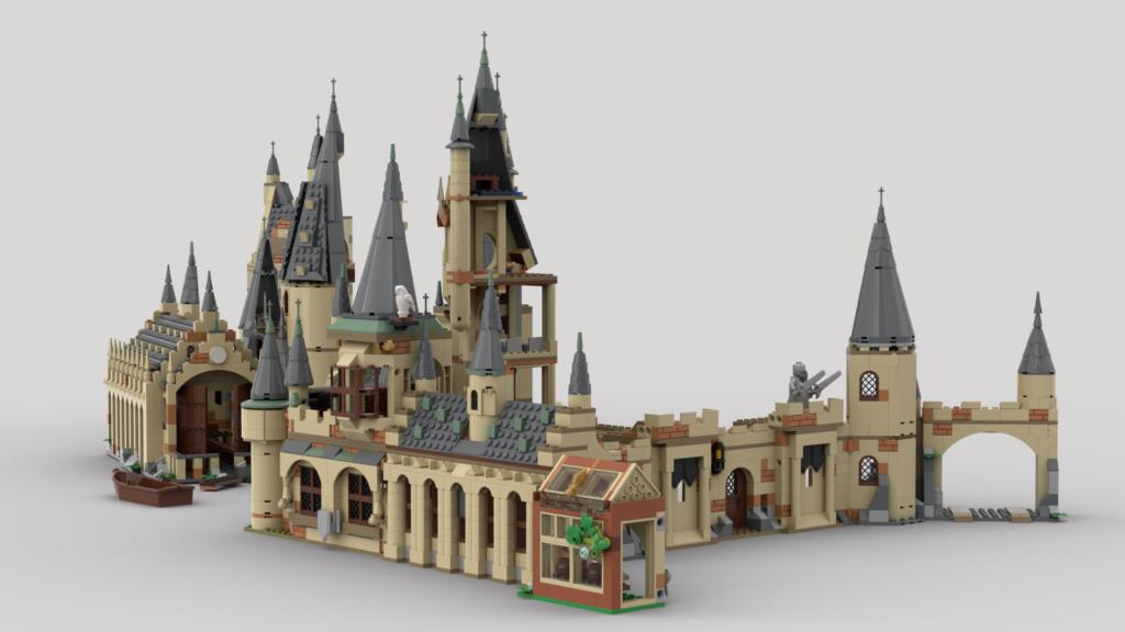 LEGO Harry Potter Combining Hogwarts Sets Eurobricks 3