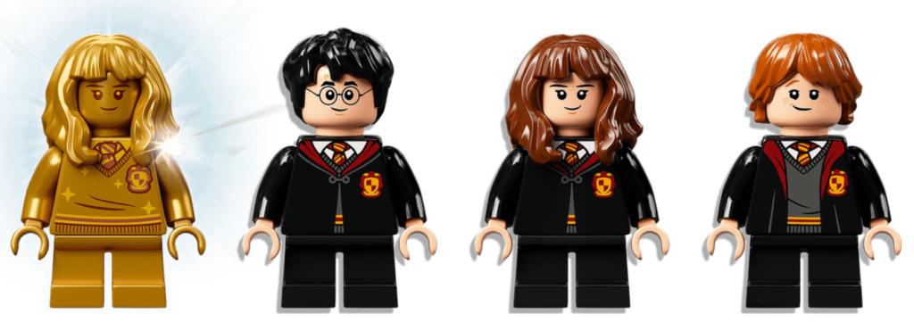 LEGO Harry Potter fluffy encounter minifigures