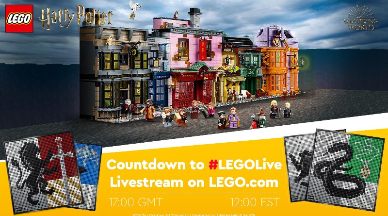 LEGO Harry Potter Livestream Featured