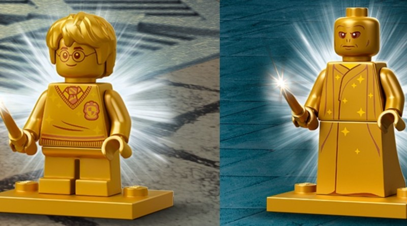 LEGO Harry Potter Anniversary Minifigures Featured