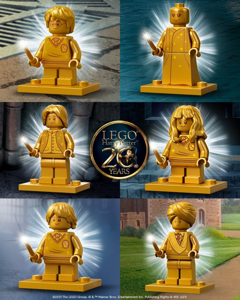 LEGO Harry Potter Anniversary Minifigures