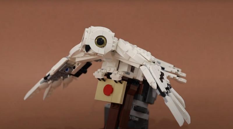 LEGO Hedwig Motorised Featured