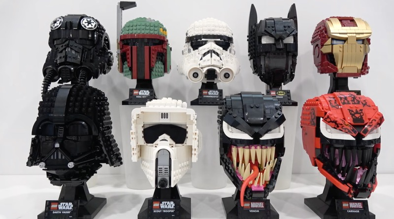 LEGO Helmets Collection FI