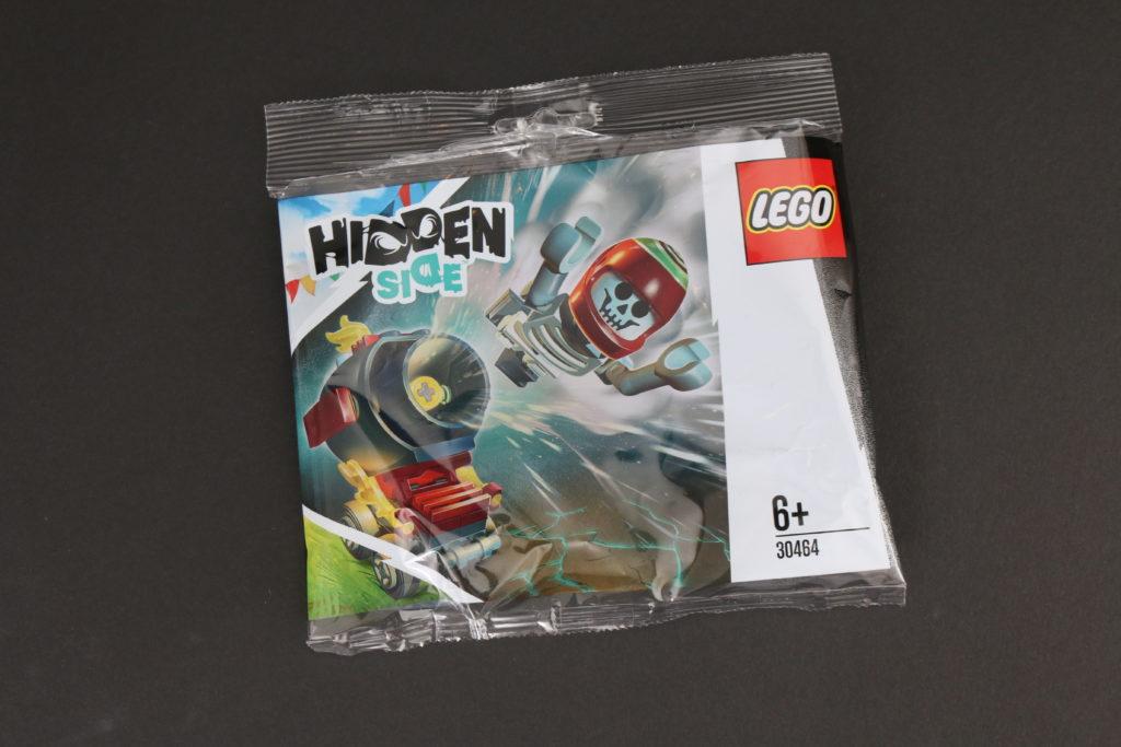 LEGO Hidden Side 30464 El Fuegos Stunt Cannon polybag review 11