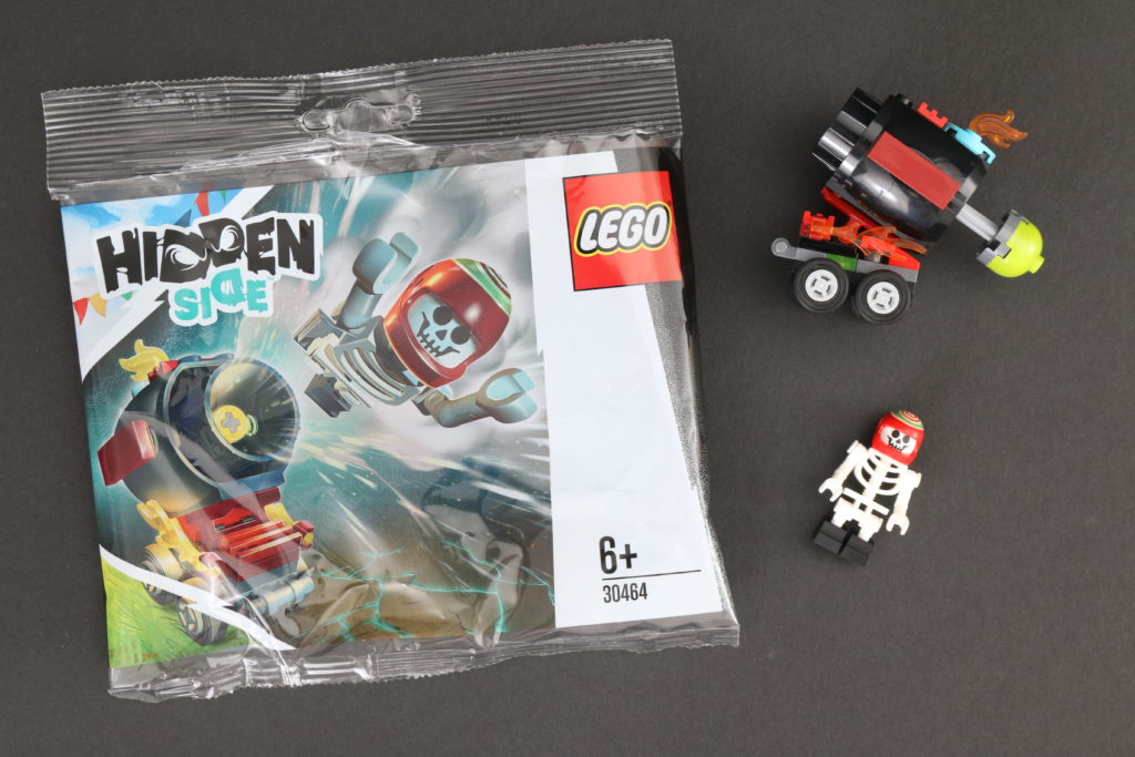 LEGO Hidden Side 30464 El Fuegos Stunt Cannon Polybag Review 12
