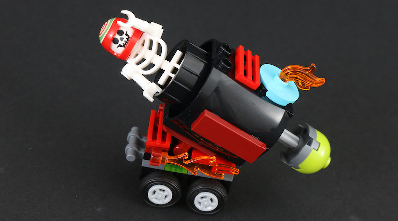 LEGO Hidden Side 30464 El Fuegos Stunt Cannon Polybag Review Title 800x445