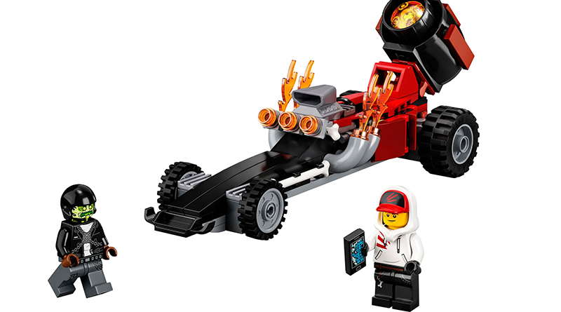 LEGO Hidden Side 40408 Drag Racer Featured 800 445