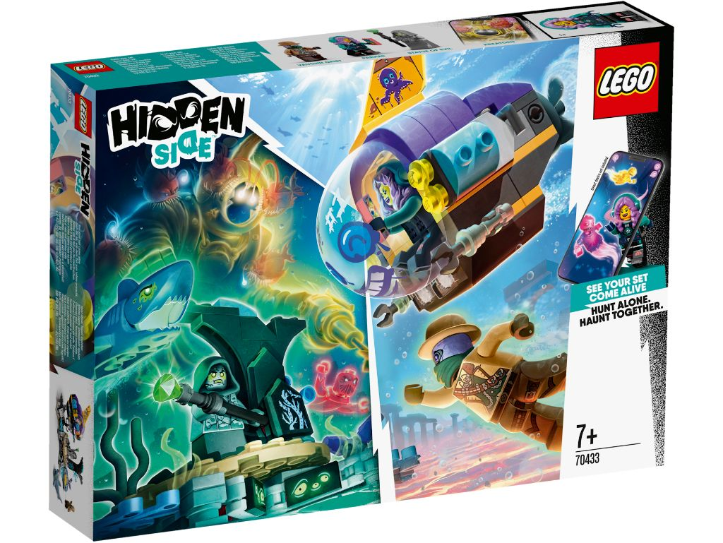 LEGO Hidden Side 70433 JBs Submarine 1