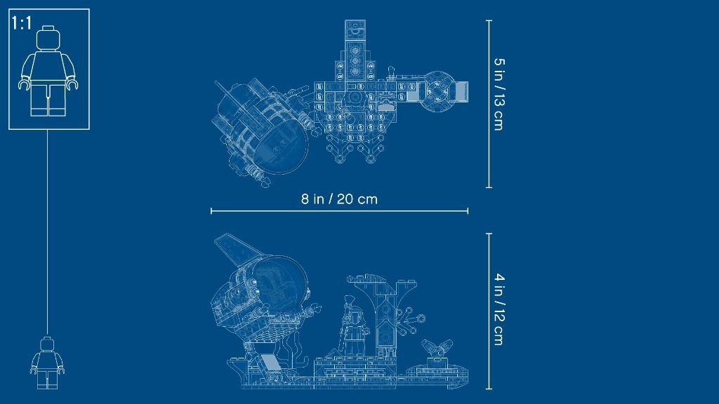 LEGO Hidden Side 70433 JBs Submarine 15