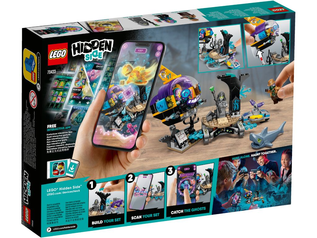 LEGO Hidden Side 70433 JBs Submarine 2