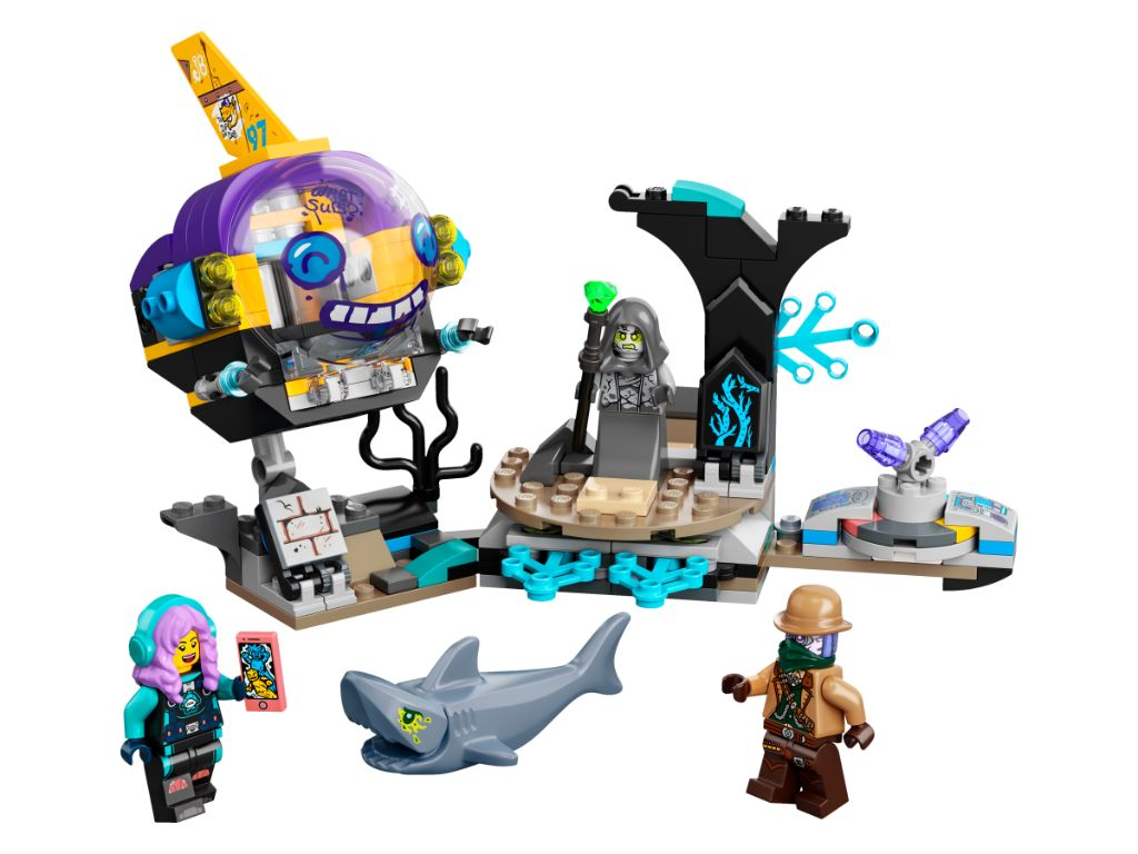 LEGO Hidden Side 70433 JBs Submarine 3