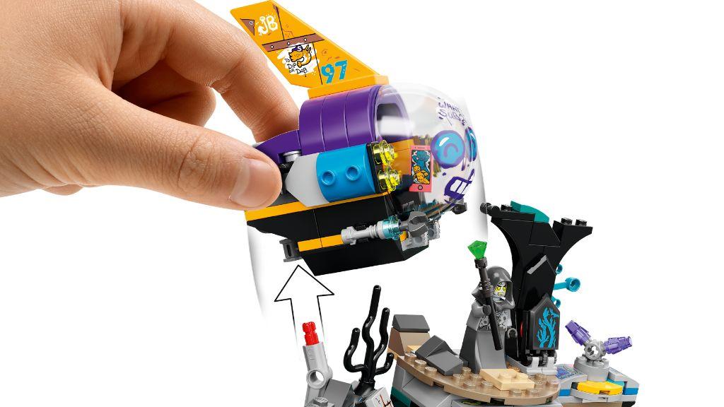 LEGO Hidden Side 70433 JBs Submarine 6