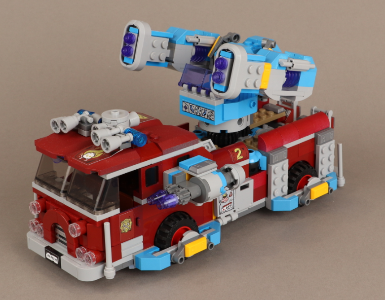 LEGO Hidden Side 70436 Phantom Fire Truck 3000 Designs 13