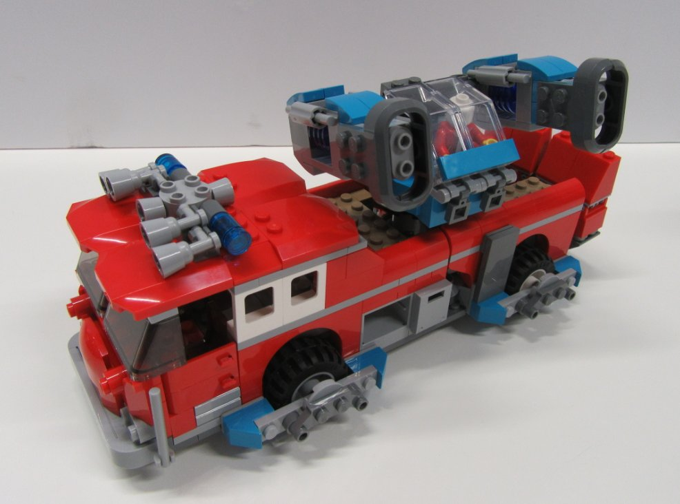 LEGO Hidden Side 70436 Phantom Fire Truck 3000 Designs 9