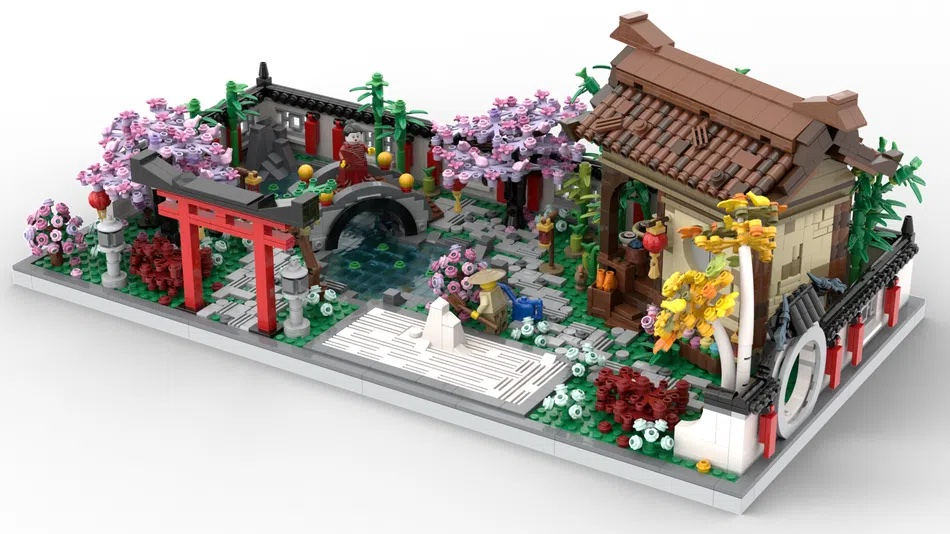LEGO House Contest Exploring the Serenity Garden