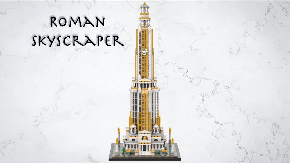 LEGO House Contest Roman Skyscraper