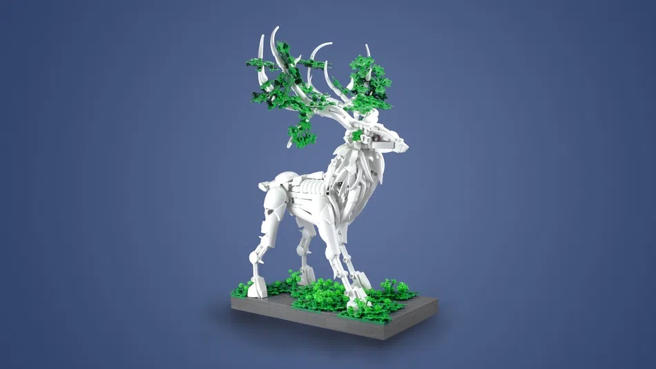 LEGO House Contest The Branching Elk