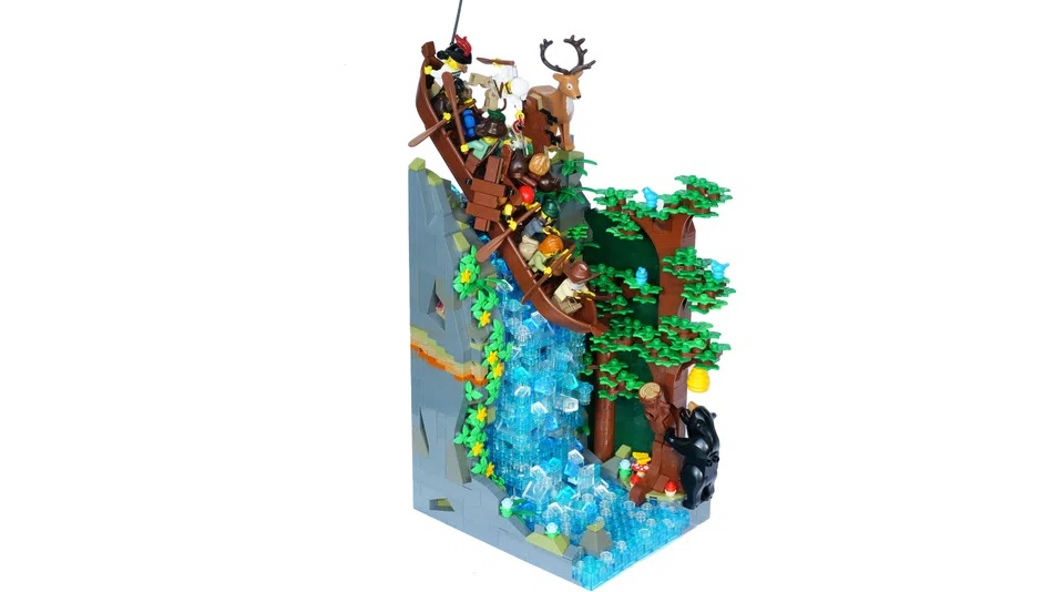 LEGO House Contest Voyageur Waterfall