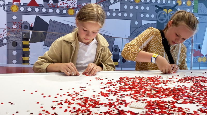 LEGO House DOTS mural event featured