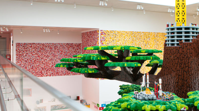 LEGO House DOTS mural featured