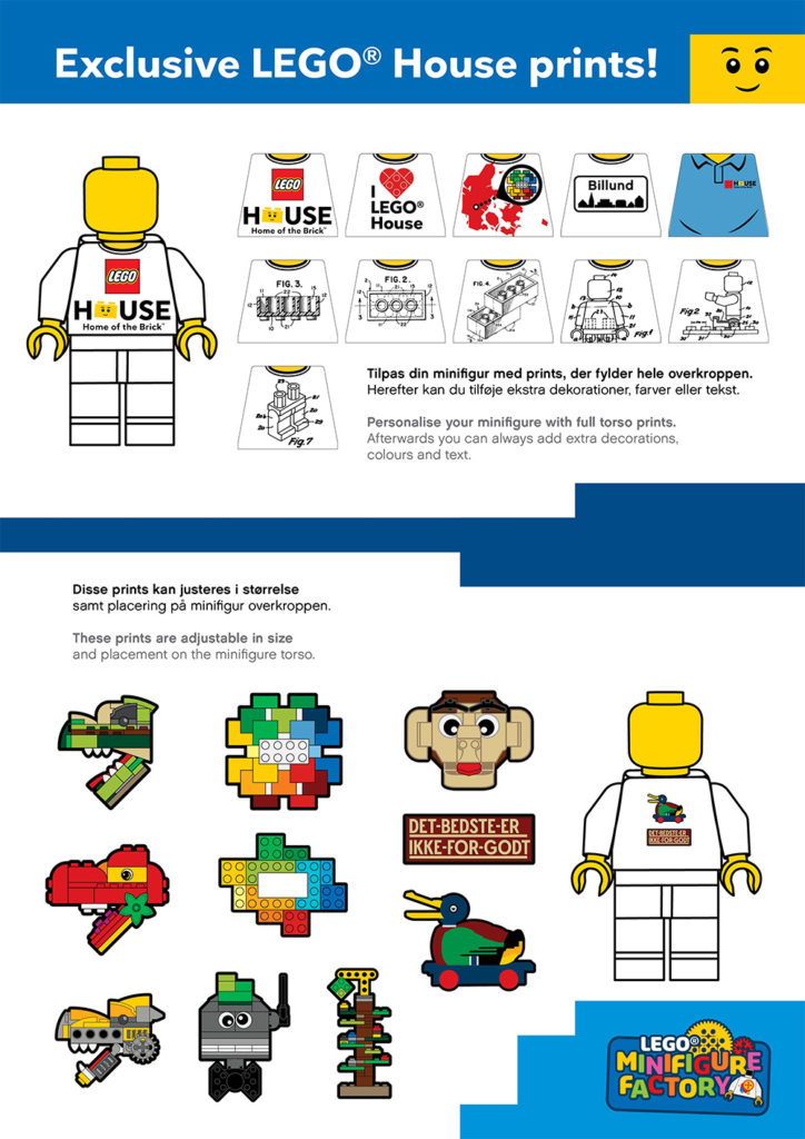 LEGO House MInifigure Factory