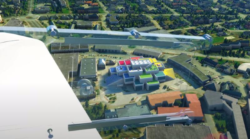 LEGO House Microsoft Flight Simulator Nordics World Update Featured
