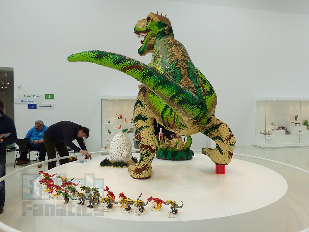 LEGO House Dinosaur Building 2