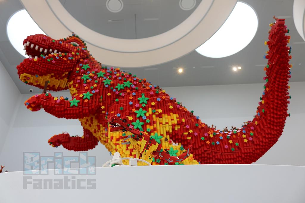 LEGO House Dinosaur Building 3