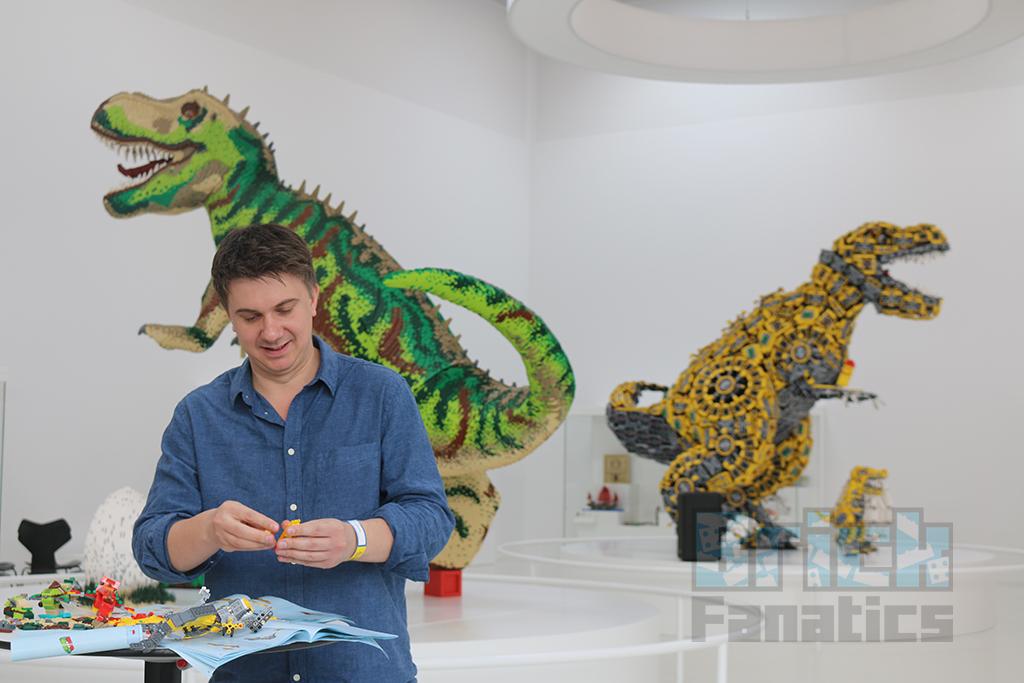 LEGO House Dinosaur Building 4