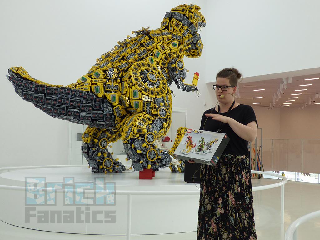 LEGO House Dinosaur Presentation 1