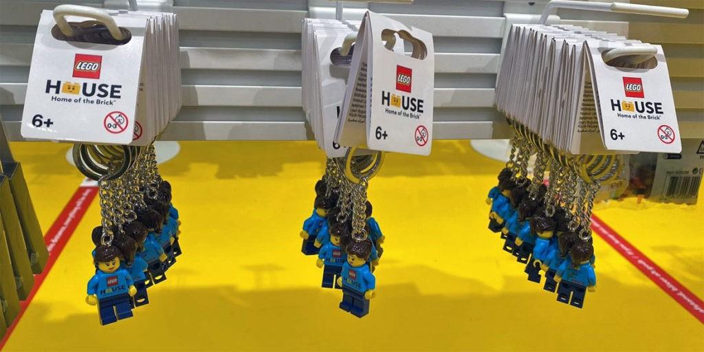 LEGO House Female Keyring