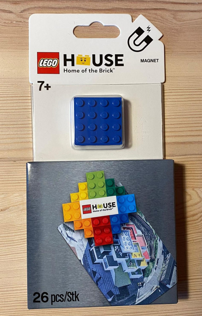 LEGO House Magnet