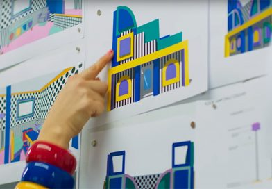 Building the LEGO HOUSE OF DOTS