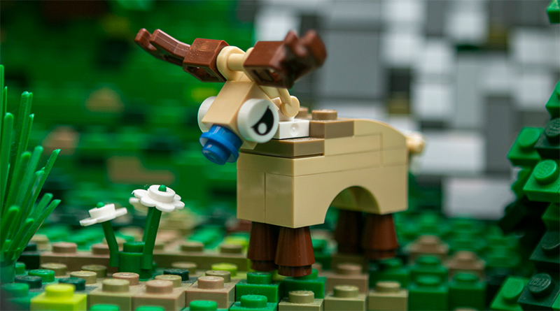LEGO House Reindeer Featured