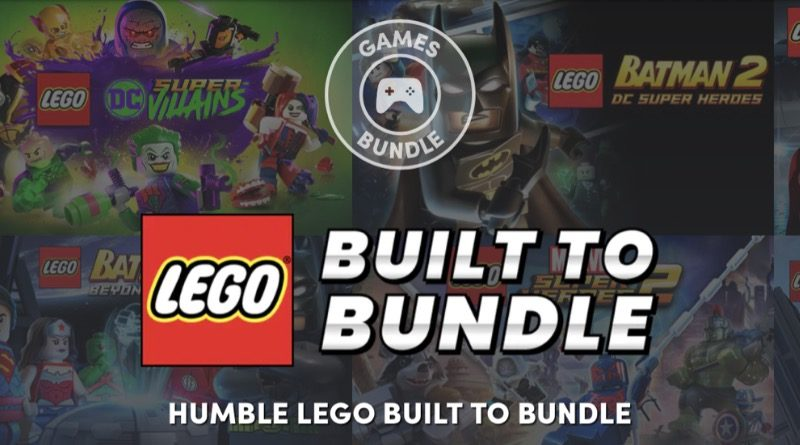 LEGO Humble Bundle Banner Featured 800x445
