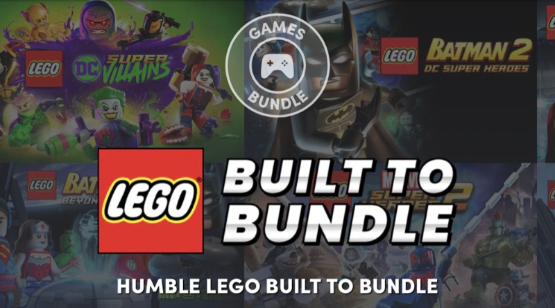 LEGO Humble Bundle Banner Featured