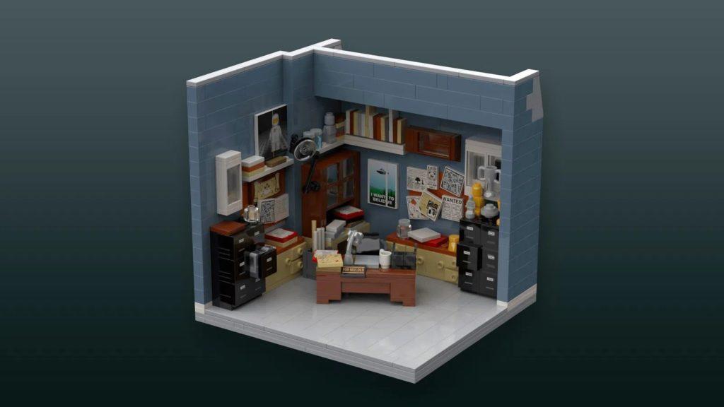 LEGO IDeas X Files Office