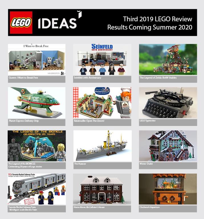 LEGO Ideas 2019 Third Review