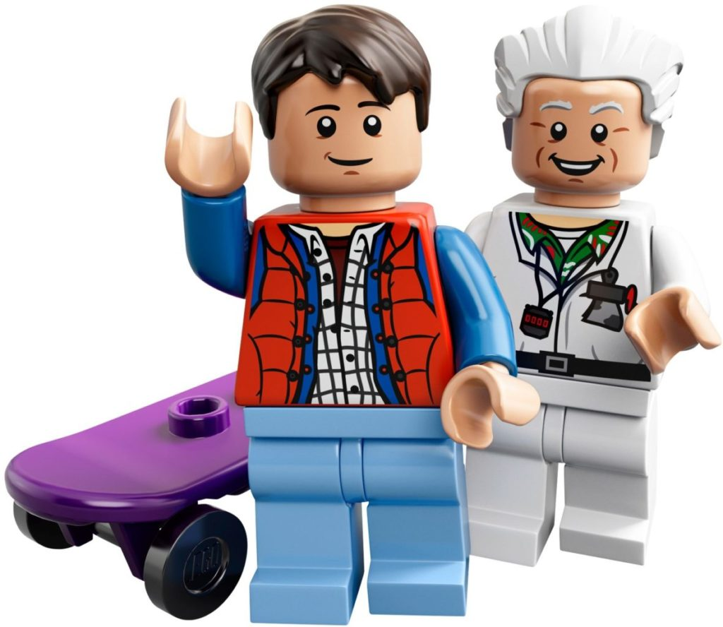 LEGO Ideas 21103 Back to the future delorean Marty Mcfly Doc Brown