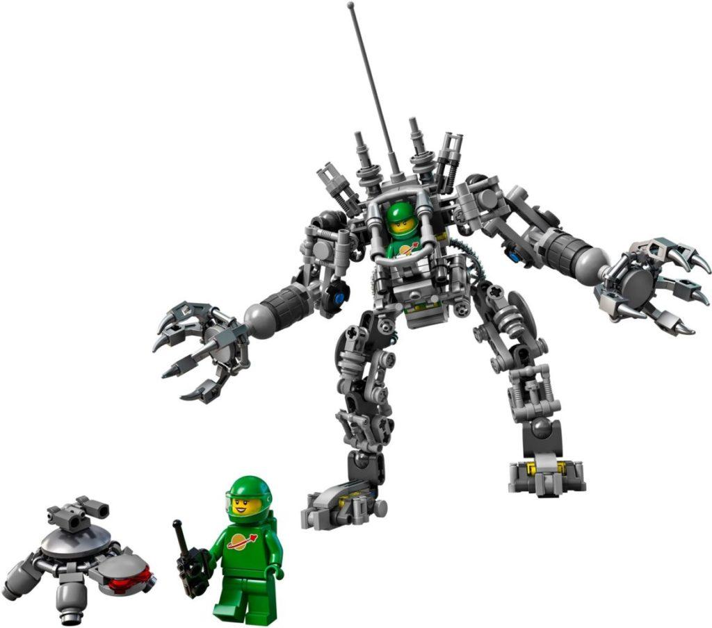 LEGO Ideas 21109 Exo suit contents