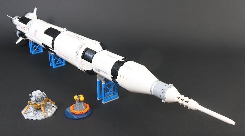 LEGO Ideas 92176 NASA Apollo Saturn V available now