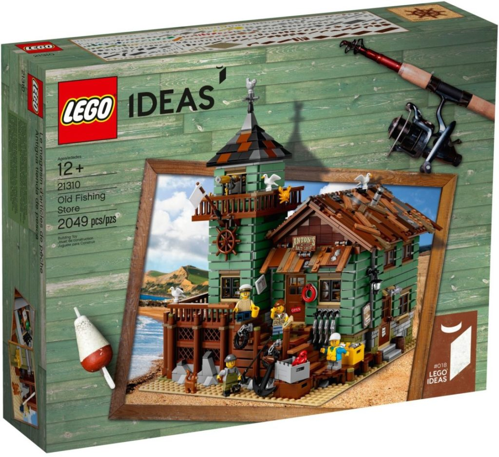 LEGO Ideas 21310 Old Fishing Store 2
