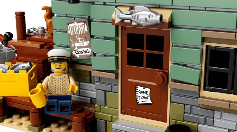 LEGO Ideas 21310 Old Fishing Store featured detail