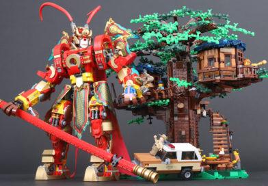 Win LEGO 21318 Tree House, 75810 The Upside Down or 80012 Monkey King Warrior Mech