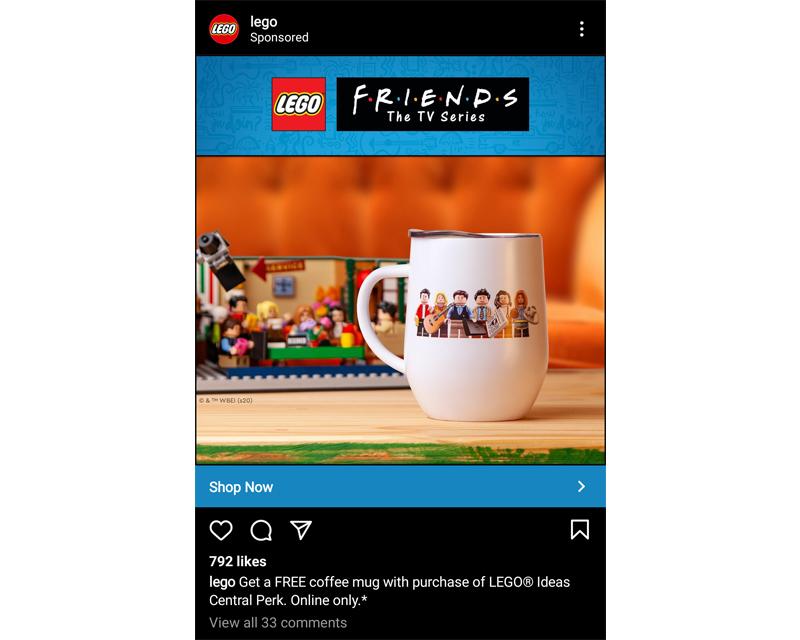 LEGO Ideas 21319 Central Perk Mug
