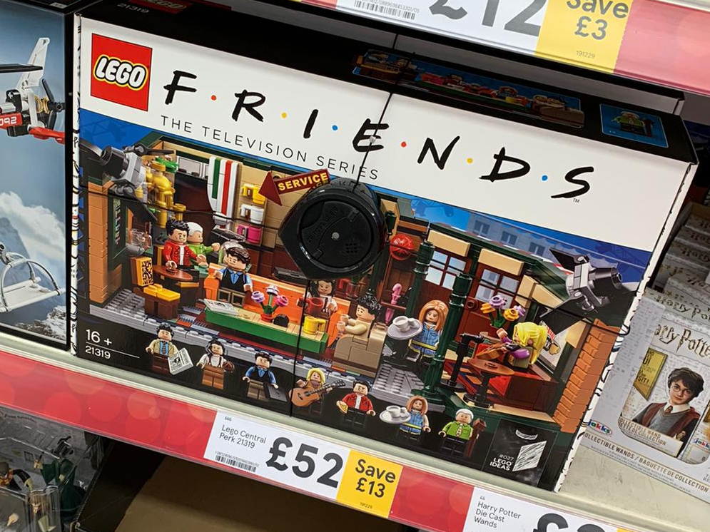 LEGO Ideas 21319 Friends Central Perk Sale