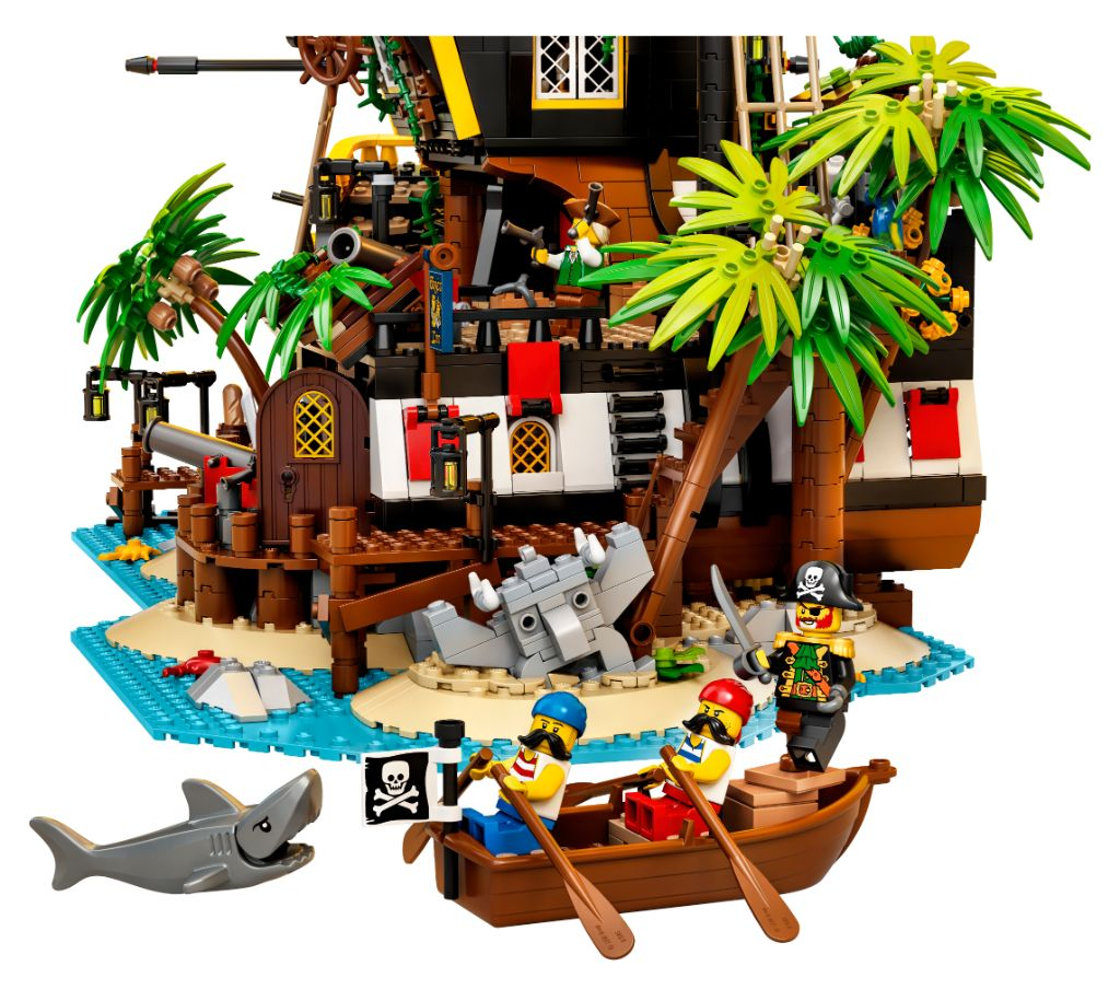 LEGO Ideas 21322 Pirates Of Barracuda Bay 13