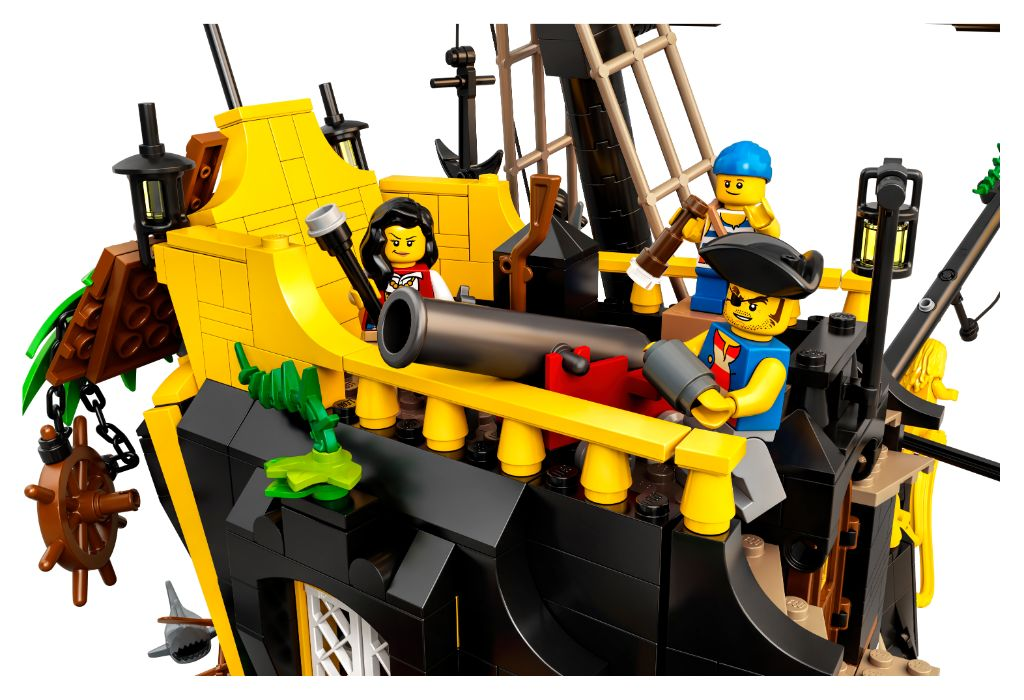 LEGO Ideas 21322 Pirates Of Barracuda Bay 14