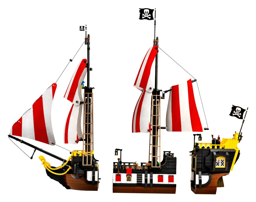 LEGO Ideas 21322 Pirates Of Barracuda Bay 15